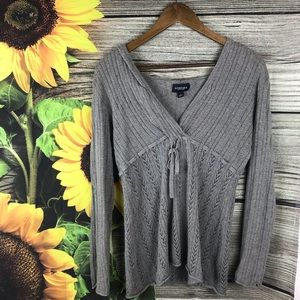 Sonoma Knit Hooded Long Sleeve